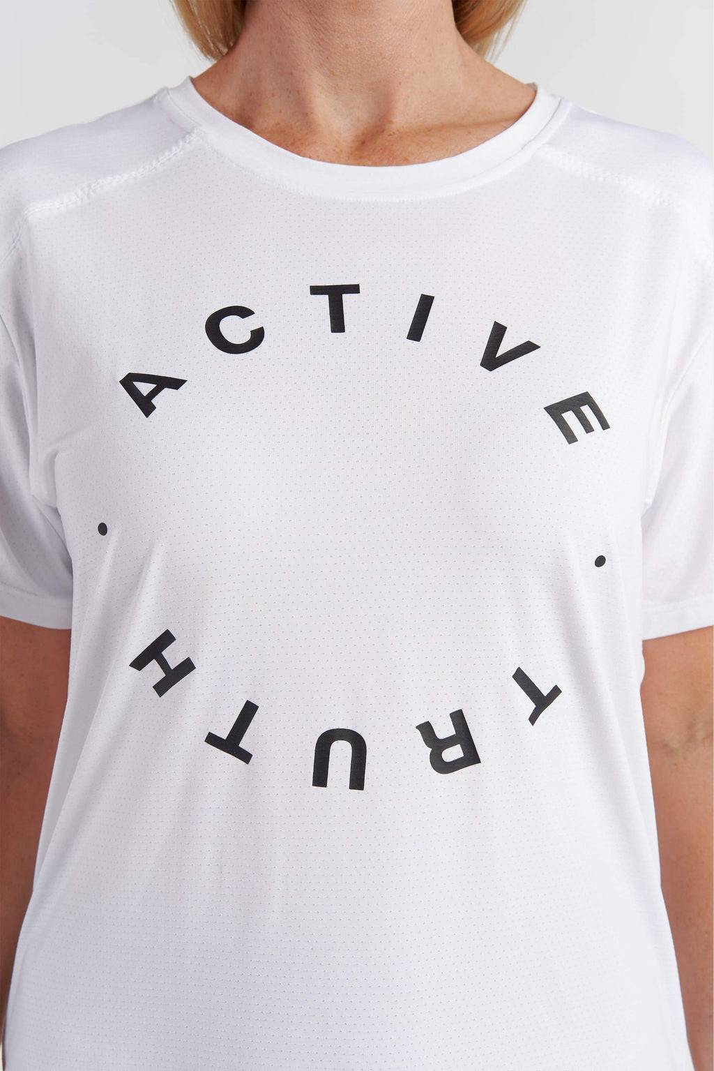 Performance T-Shirt - White Circle from Active Truth USA
