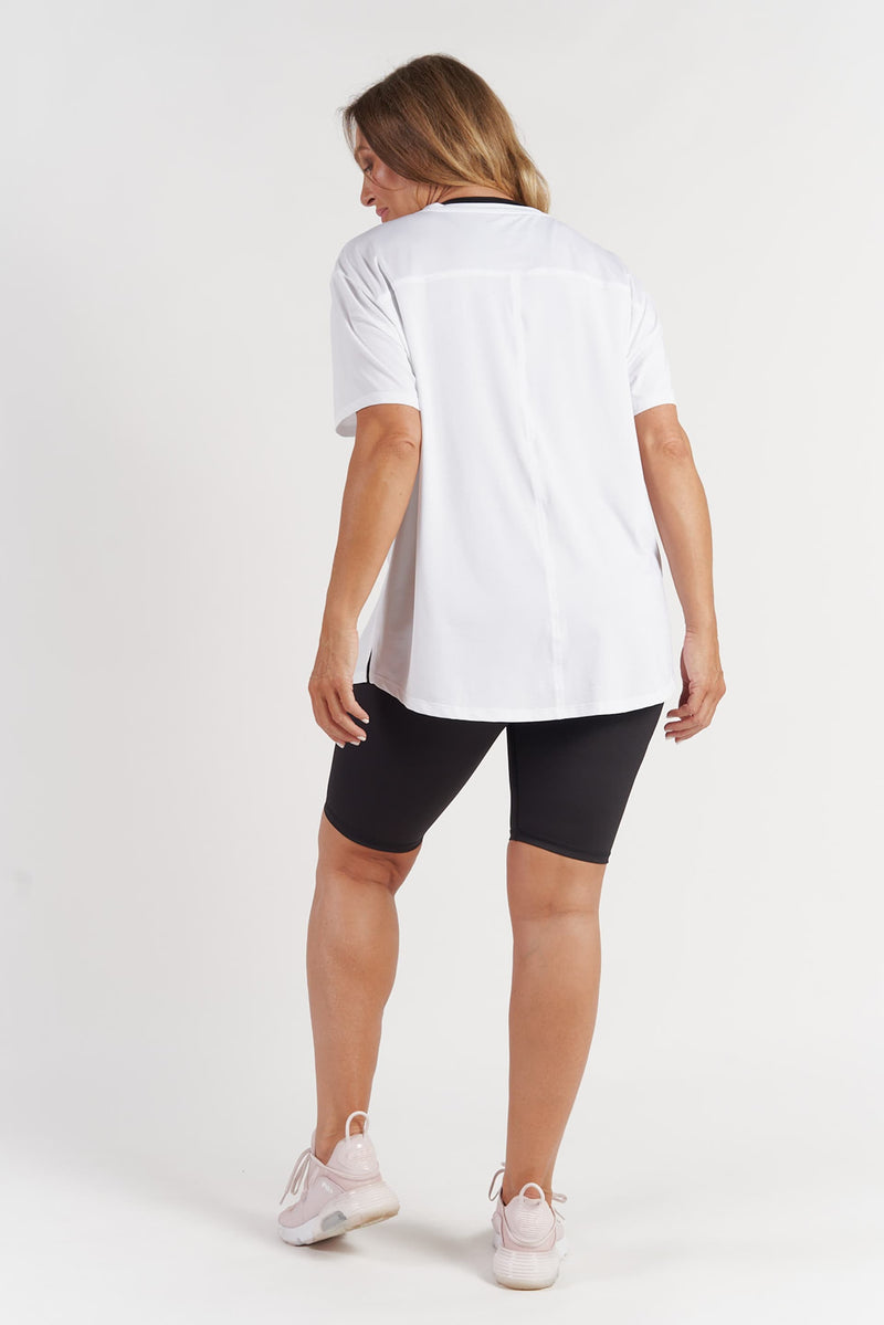 Performance T-Shirt - White Logo from Active Truth USA