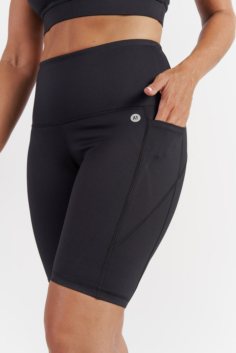 Training Pocket Bike Short - Black from Active Truth USA