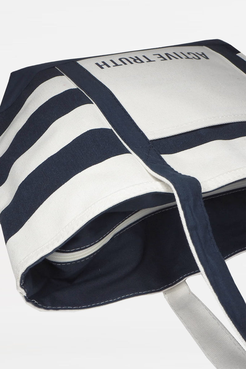 Cotton Beach Tote - Striped from Active Truth USA
