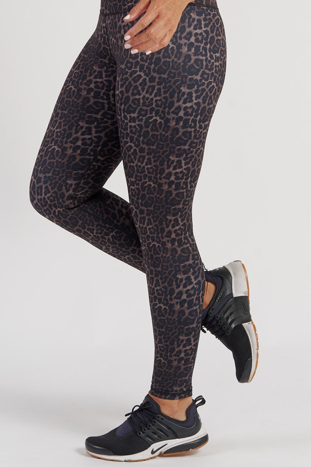 Essential Full Length Tight - Bronze Leopard from Active Truth USA