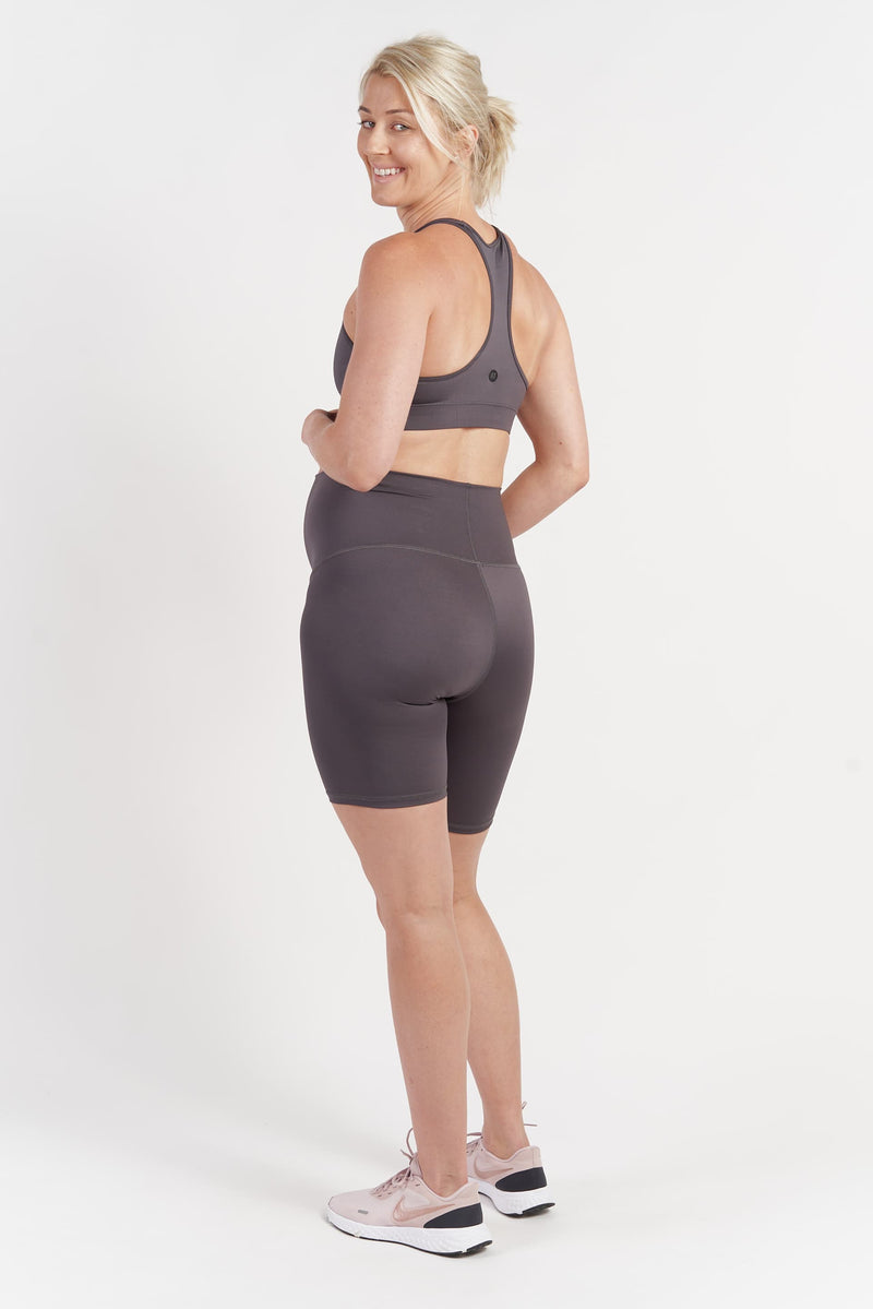 Mama Bike Short - Grey from Active Truth USA