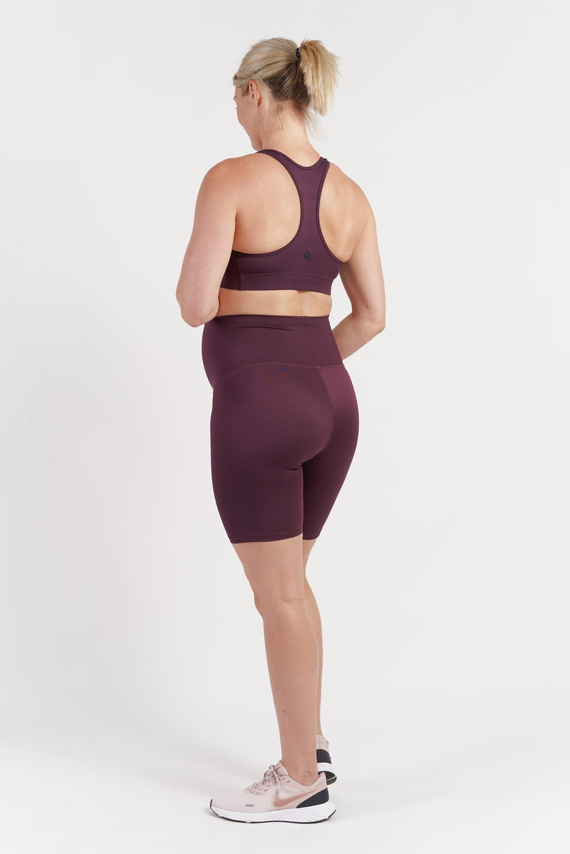 Mama Bike Short - Wine from Active Truth USA