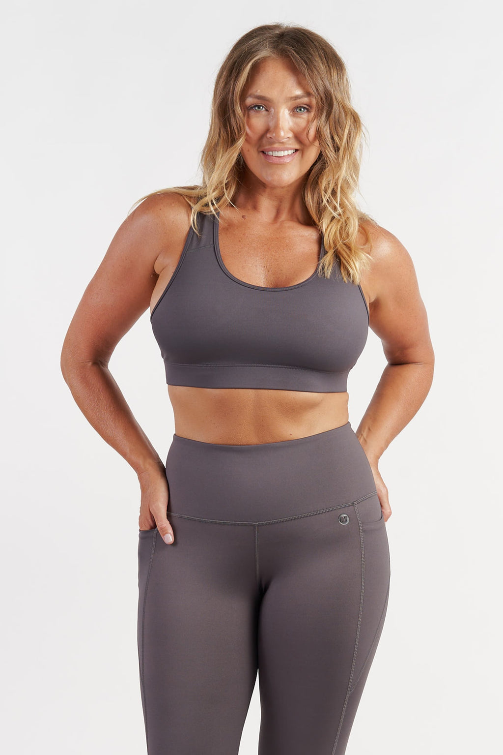 Ultimate Crop - Grey from Active Truth USA