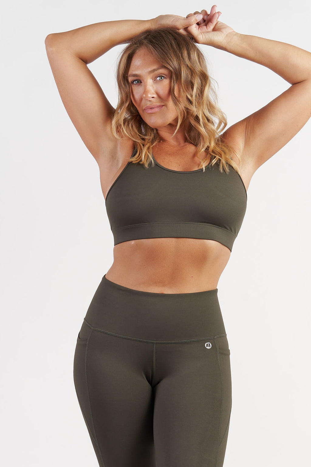 Ultimate Crop - Khaki from Active Truth USA