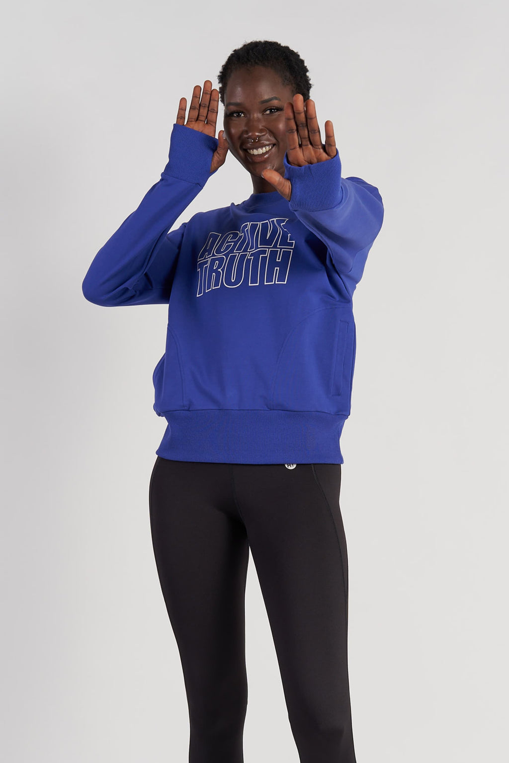 Studio Sweatshirt - Classic Blue from Active Truth USA