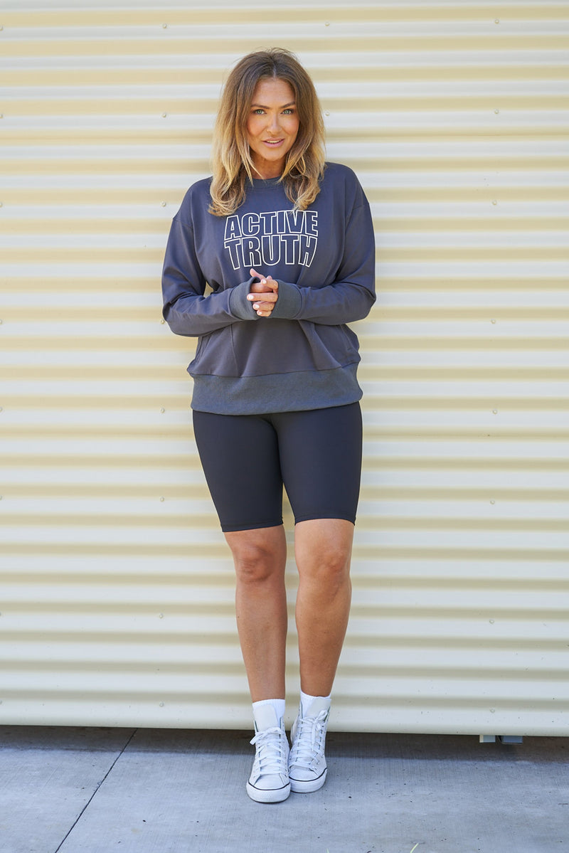 Studio Sweatshirt - Charcoal from Active Truth USA