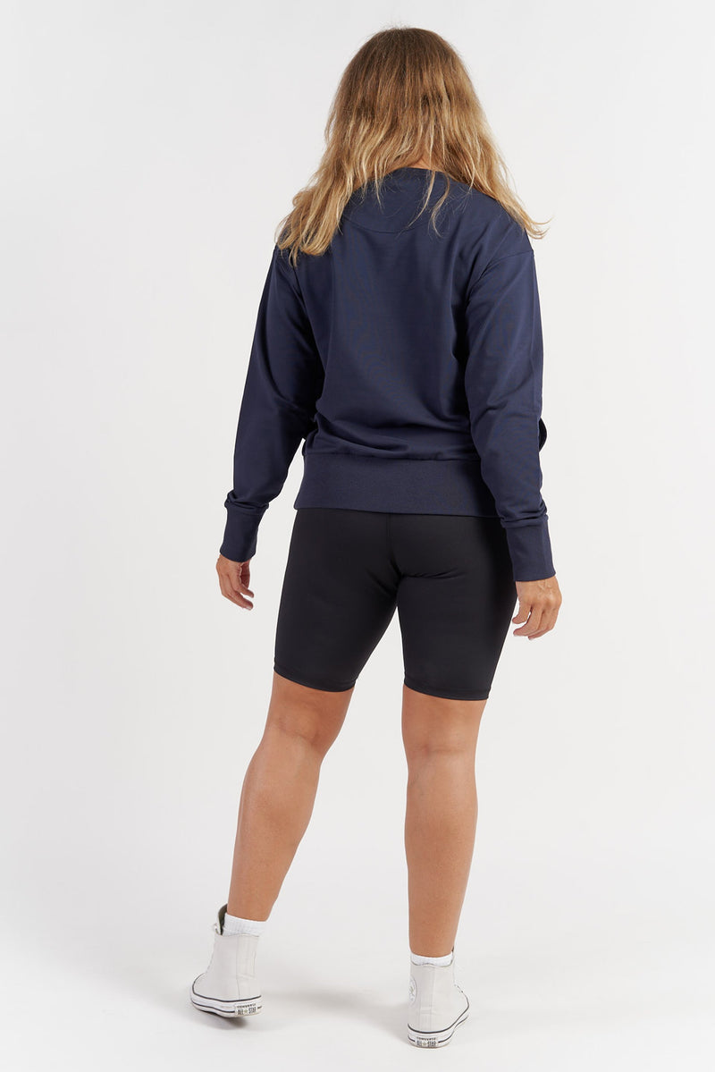 Studio Sweatshirt - Navy Blue from Active Truth USA