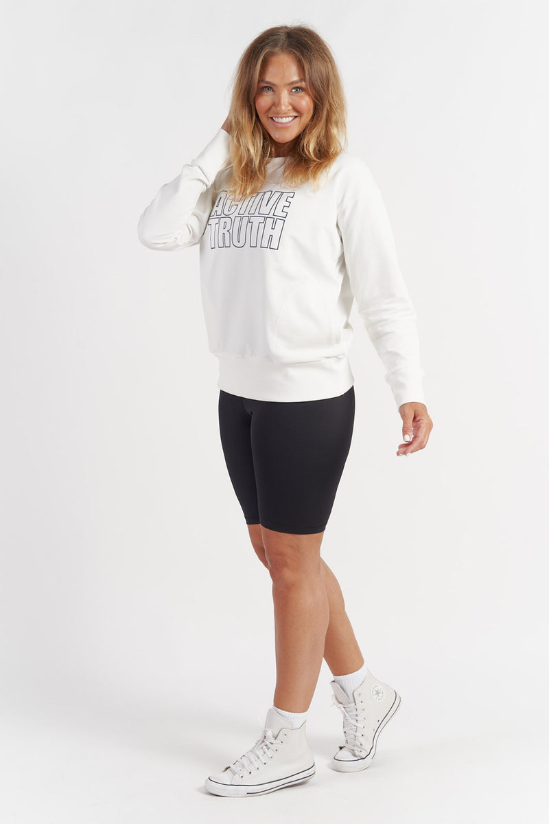 Studio Sweatshirt - Vintage White from Active Truth USA