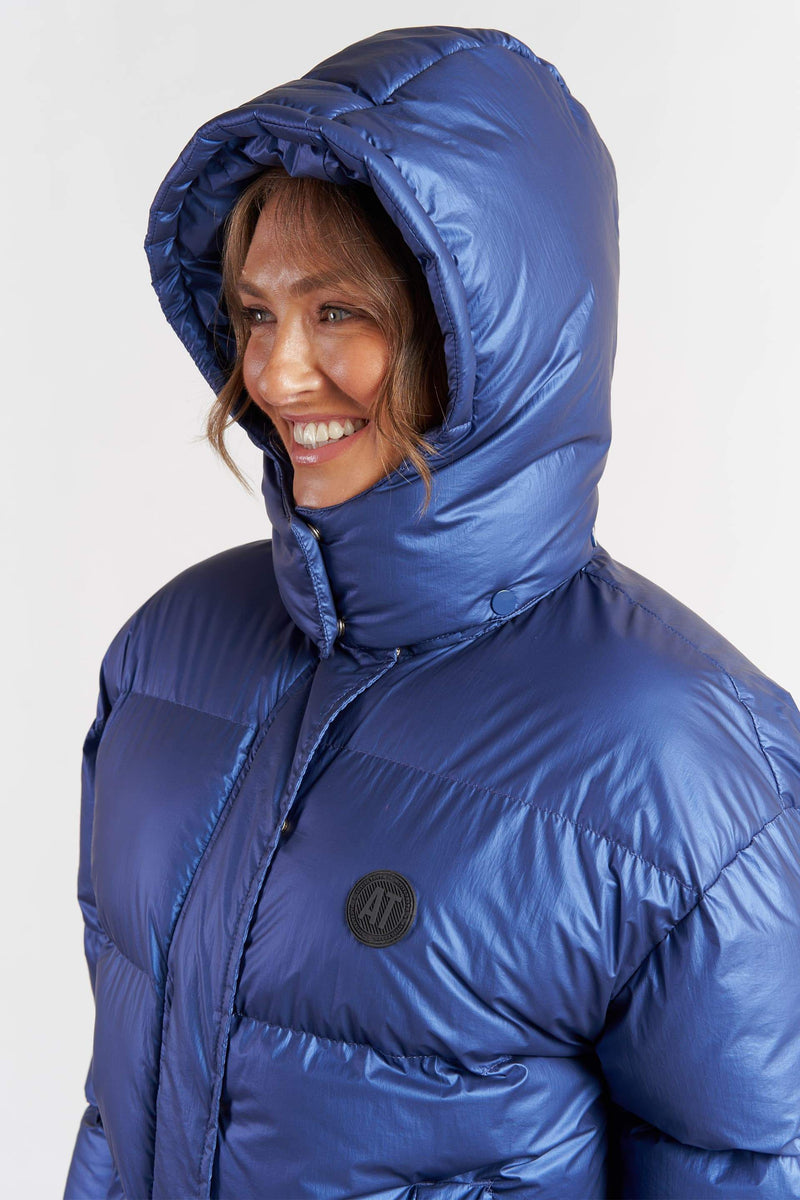 Puffa Jacket - Electric Blue from Active Truth USA