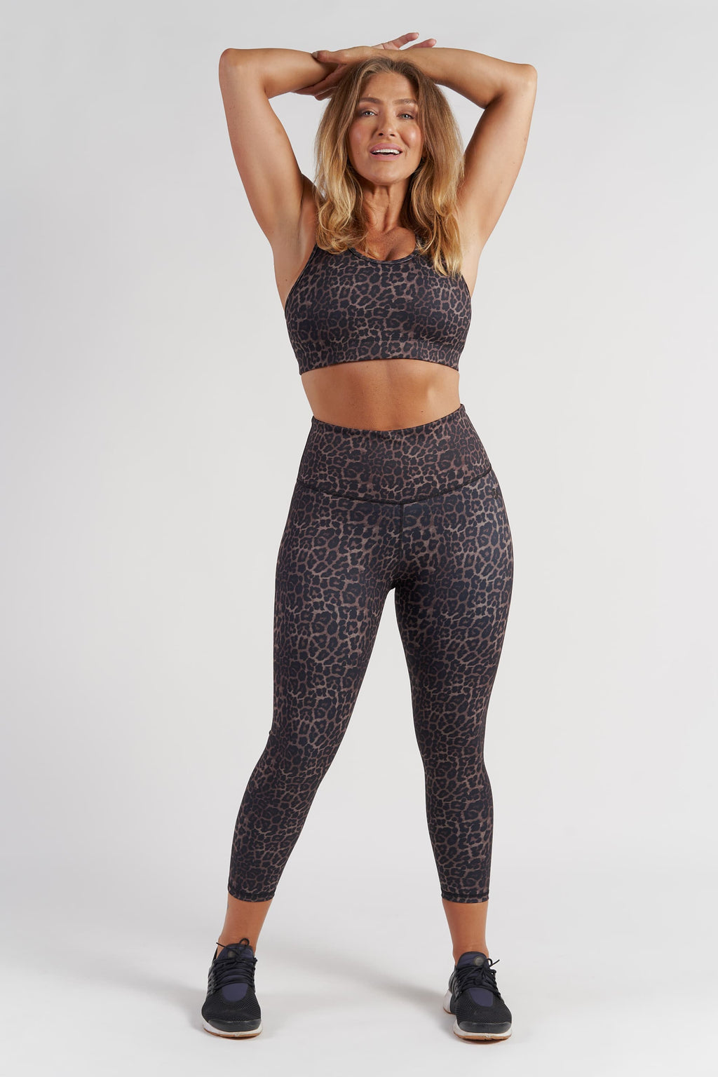 Essential 7/8 Length Tight - Bronze Leopard from Active Truth USA