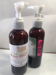 Our African Black Soap Shampoo Is Natural , Cruelty Free, Organic, Safe, free of harsh Chemicals, Free of parabens, toxins and artificial fragrances free! Shop Adorn Reflections for all your self care needs !