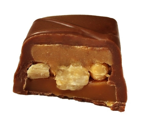 Nutty Peanut Butter Caramel Square