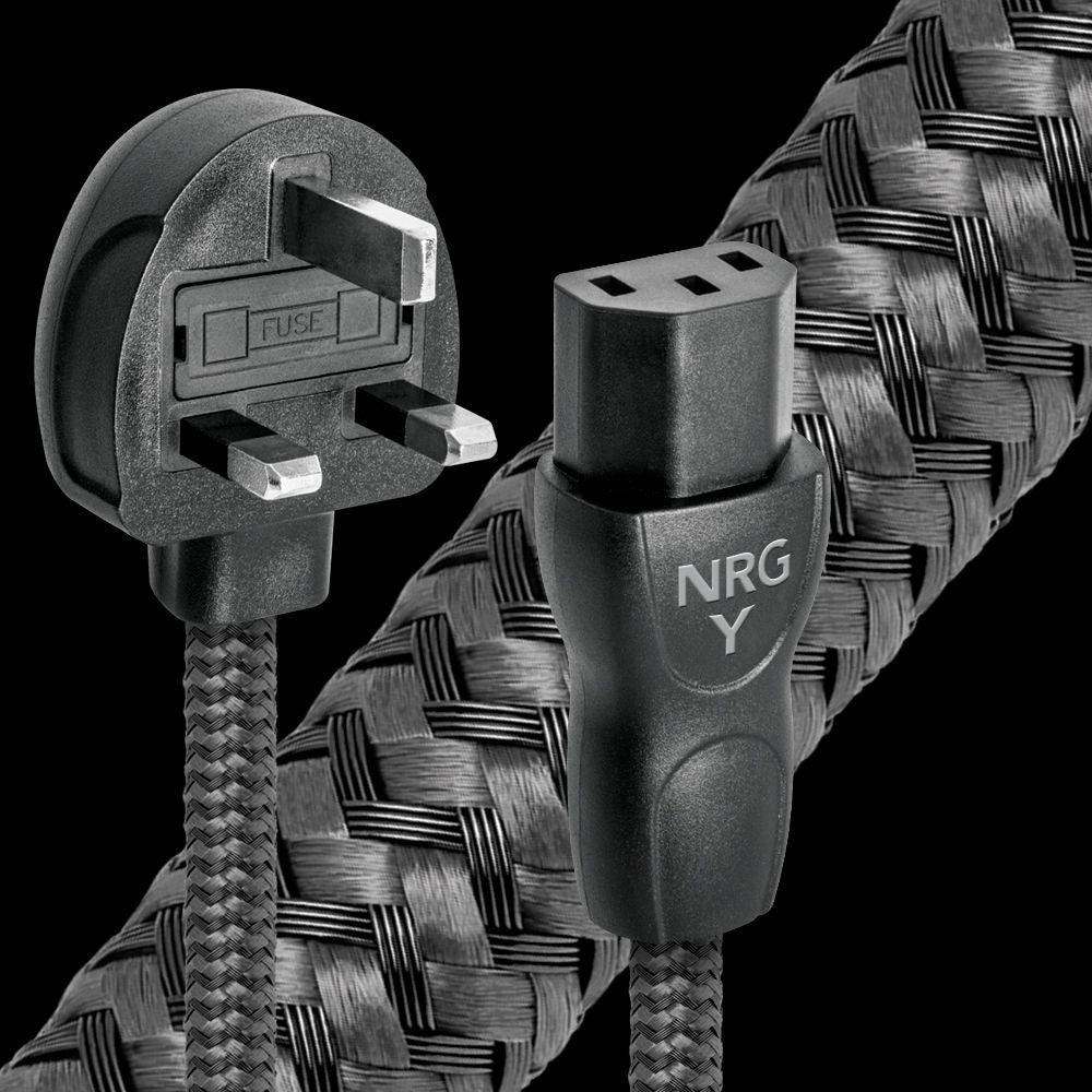 AudioQuest NRG-Y3 2 metre long IEC C13 UK power cable