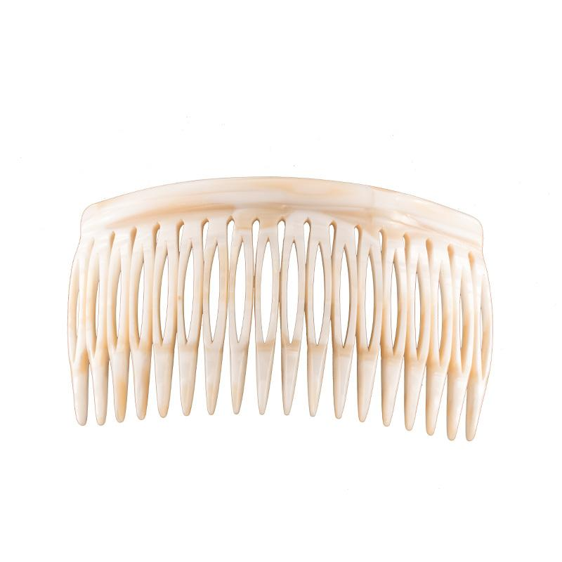 Paris Mode - Side Comb 18 - White Alba