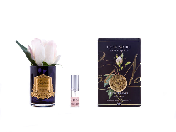 COTE NOIRE - PERFUMED NATURAL TOUCH ROSE BUD - PINK BLUSH