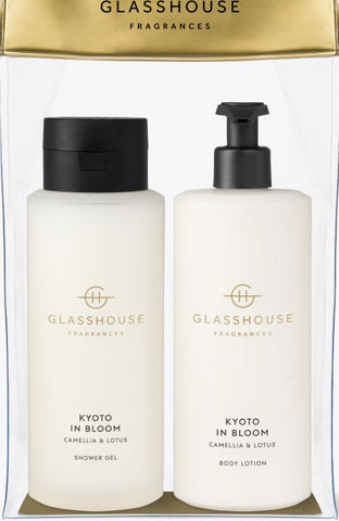 GLASSHOUSE -  KYOTO IN BLOOM Body Duo Gift Set