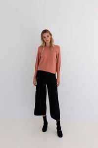 HUMIDITY - HARLEY KNIT PANT - BLACK