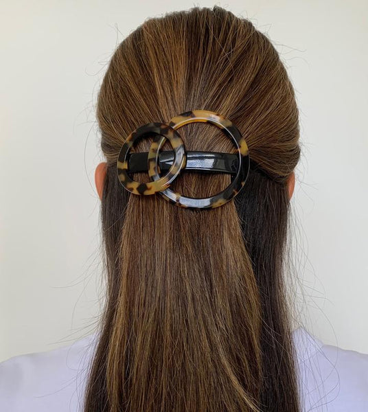 Paris Mode - Olympus Barrette - Dark Tortoise Shell