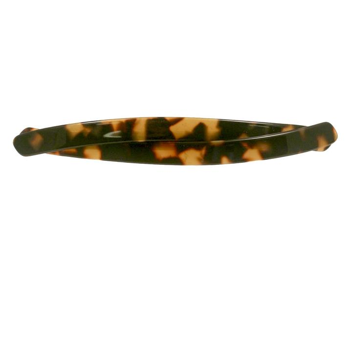 Paris Mode - Hair Clip Ella - Dark Tortoise Shell