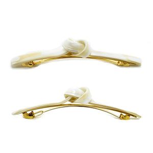 Paris Mode - Hair Clip Isabel - White Alba