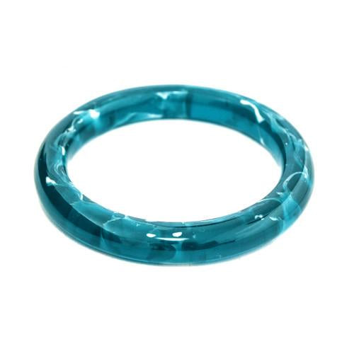 Polka Luka - Aura Resin Bangle - Polished Finish