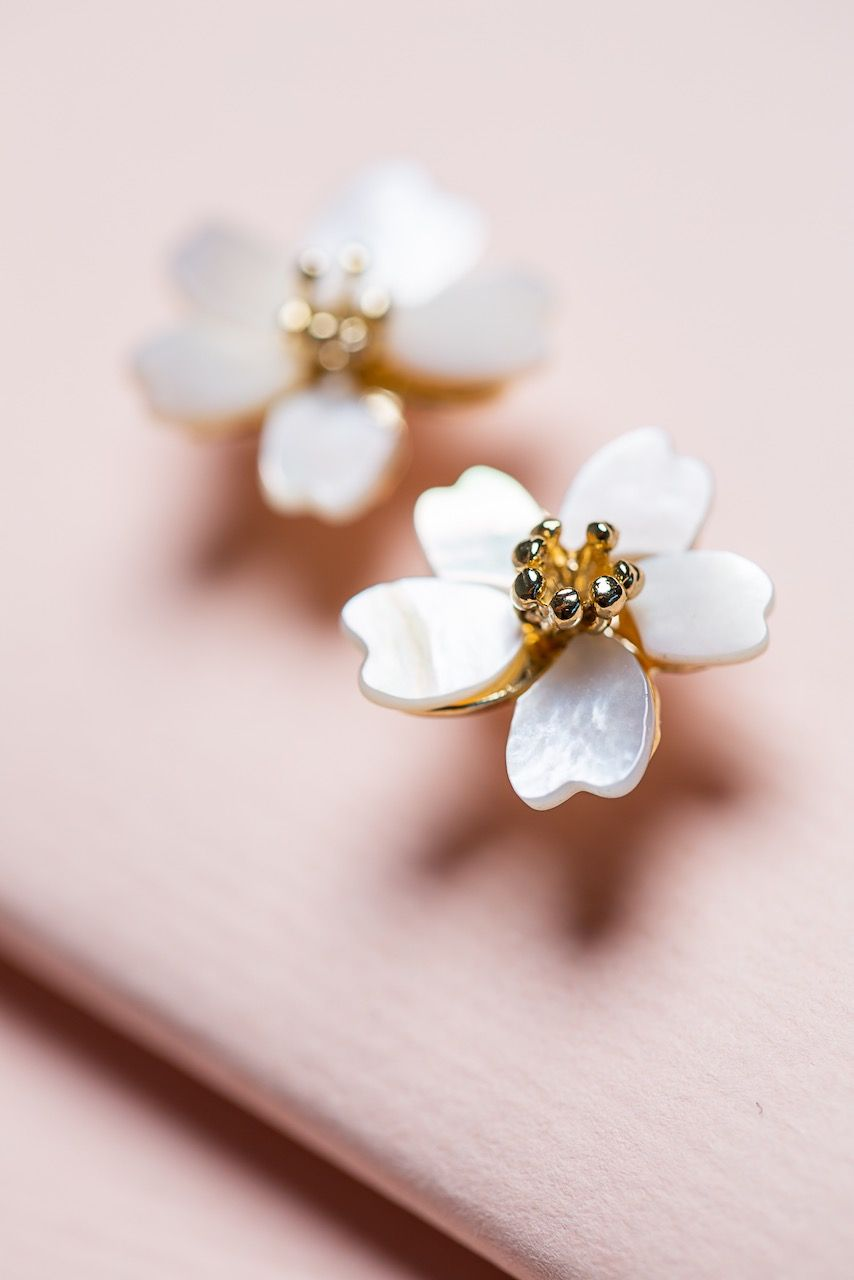 ZAFINO - PIPER FLOWER EARRINGS