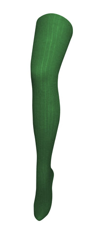 TIGHTOLOGY - STAPLE GREEN WOOL TIGHTS