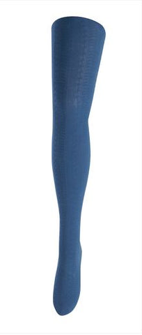 TIGHTOLOGY - TRASTEVERE BLUE COTTON TIGHTS
