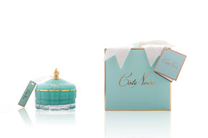 COTE NOIRE - ART DECO CANDLE - TIFFANY BLUE
