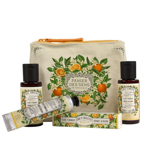 PANIER DES SENS - ORANGE BLOSSOM TRAVEL SET