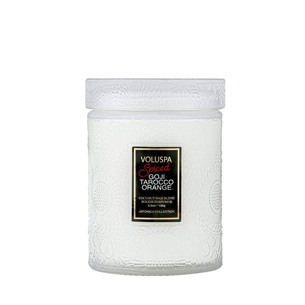 VOLUSPA - SPICED GOJI TAROCCO ORANGE 50HR JAR CANDLE