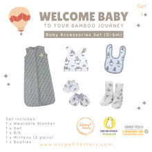Load image into Gallery viewer, Our Petite Story Welcome Baby Set 1