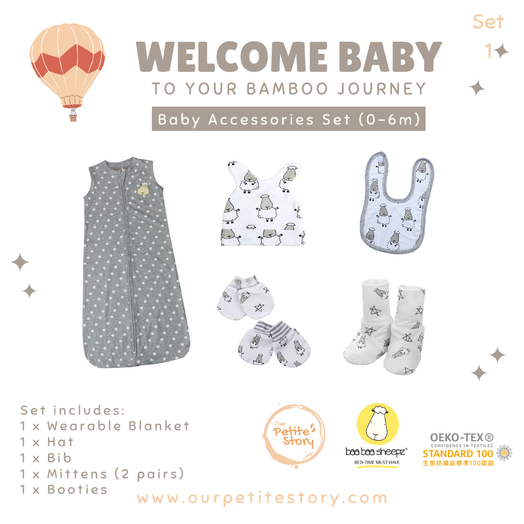 Our Petite Story Welcome Baby Set 1