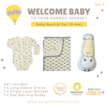 Load image into Gallery viewer, Our Petite Story Welcome Baby Set 4