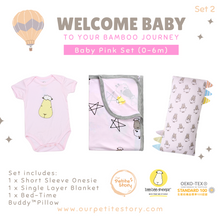 Load image into Gallery viewer, Our Petite Story Welcome Baby Set 2