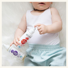 Load image into Gallery viewer, Our Petite Story Welcome Baby White Set + Grahams Natural Baby Wash & Lotion Set