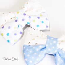 Load image into Gallery viewer, Miss Chloe Handmade Hairclip Set - Chantilly