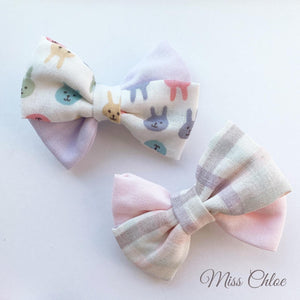 Miss Chloe Handmade Hairclip Set - Hazina (made to order)