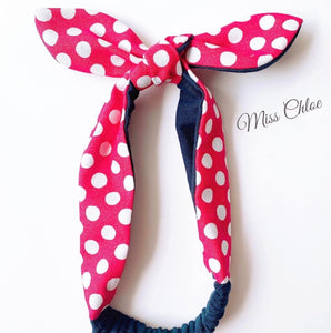 Miss Chloe Handmade Headband - Minnie