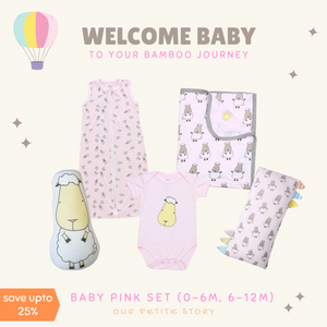 Our Petite Story Baby Pink Set