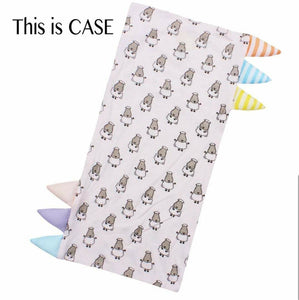 Bed-Time Buddy™ Case Small Sheepz Pink with Colour & Stripe tag - Small
