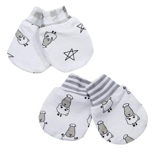 Mittens Small Sheepz + Small Star & Sheepz 2 pairs set