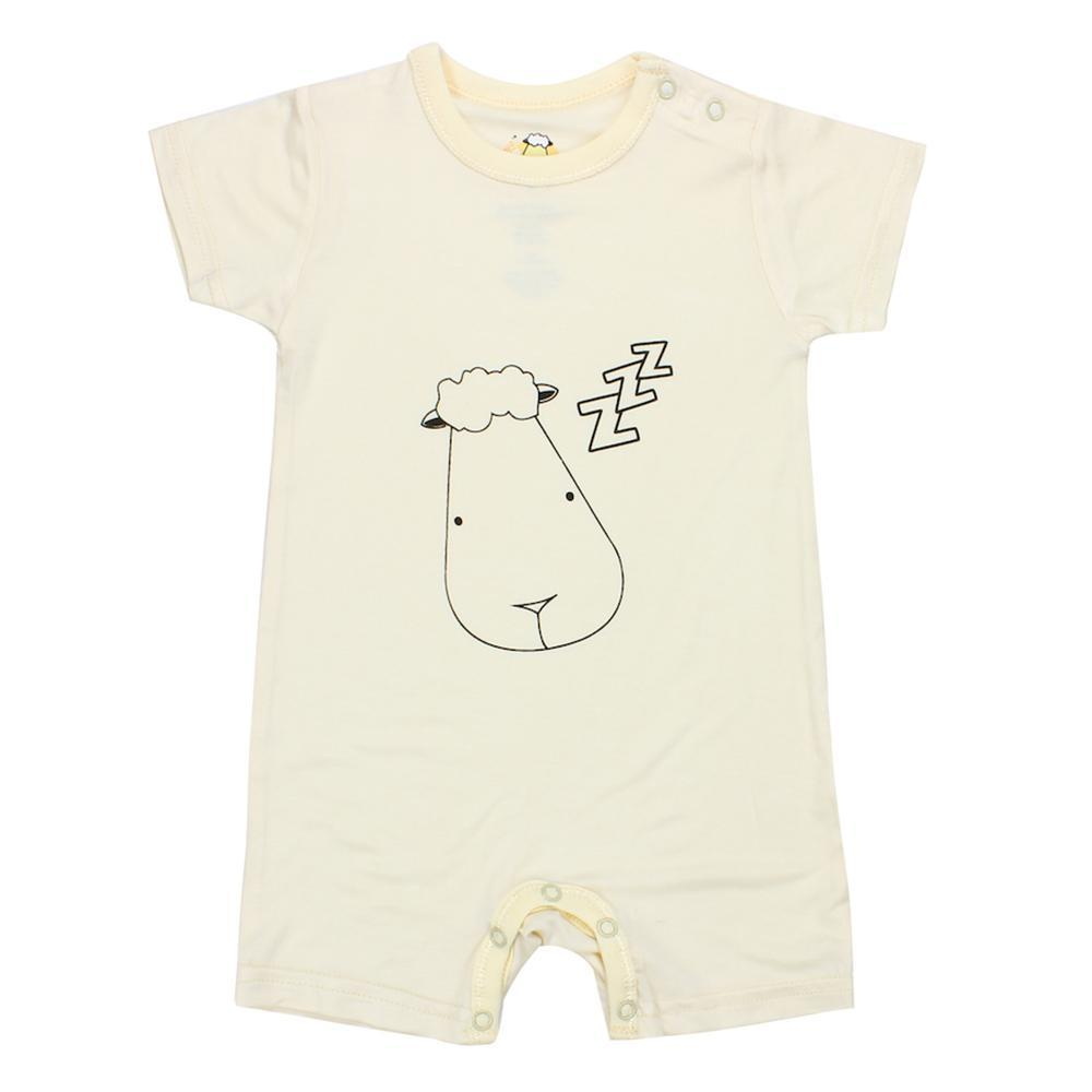 Romper Short Sleeve Yellow Sleepy Head