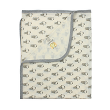 Load image into Gallery viewer, Single Layer Blanket Small Sheepz Yellow 0 - 36 months
