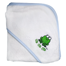 Load image into Gallery viewer, CrokCrokFrok Bamboo Hooded Towel for Baby & Toddler (coming September 2020)