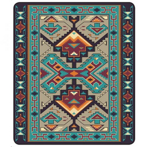 Teec Nos Pos Blanket by Arkground