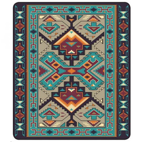 Image of Teec Nos Pos Blanket by Arkground