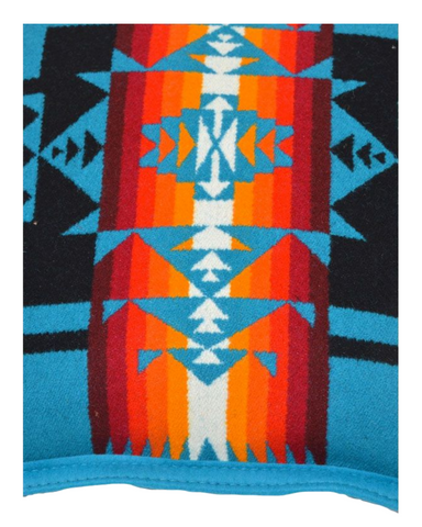 Heritage - Blanket Authentic Native American Pattern Design by Arkground
