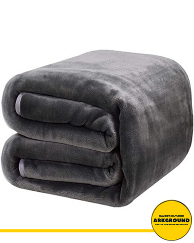 Image of OXFORD™ FLEECE BLANKET MICROPLUSH - ARKGROUND COUTURIER